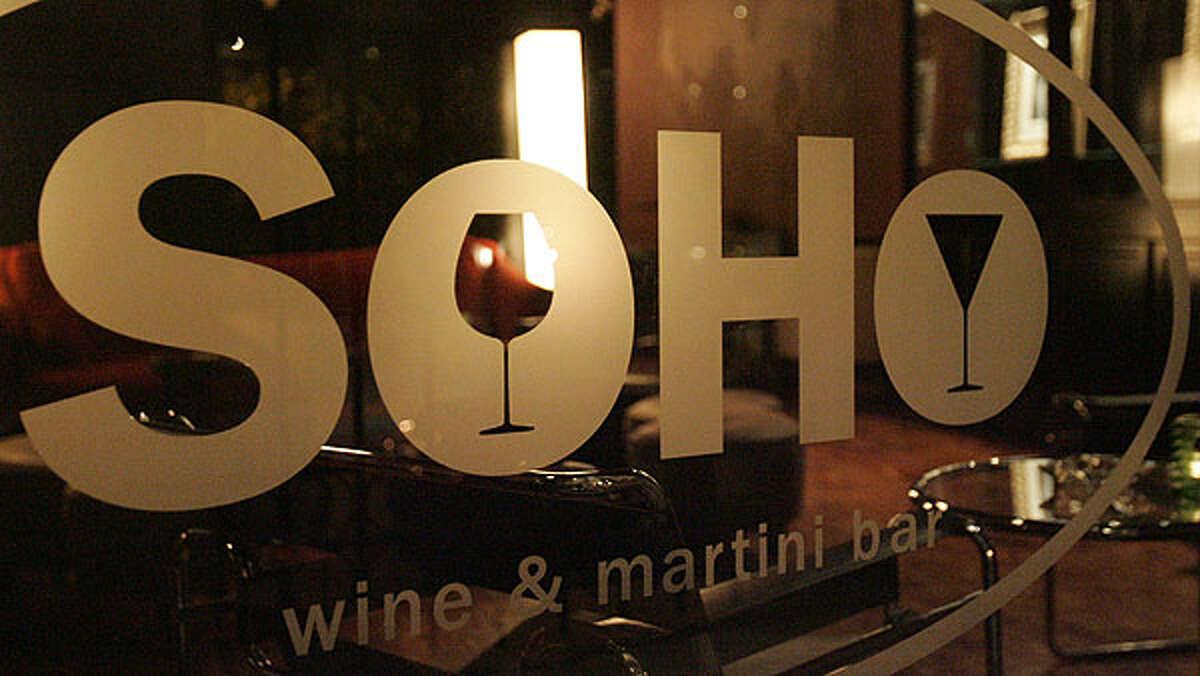 Soho Wine and Martini Bar 214 W. Crockett St. Monday hours: 4 p.m. to 2 a.m.