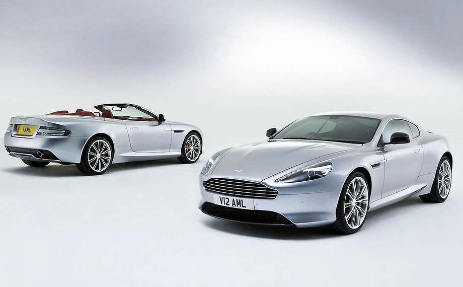 2013 Aston Martin DB9. Photo: Contributed Photo / The News-Times Contributed