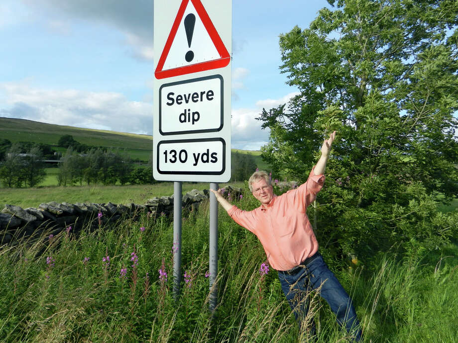 The Brits have a way with words — but don't take their traffic signs personally. Photo: Rick Steves, Ricksteves.com