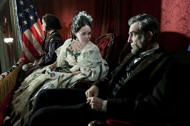 Their portrayals of Mary Todd Lincoln and President Lincoln earned Oscar nominations for Sally Field and Daniel Day-Lewis. Photo: David James, Associated Press
