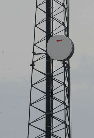 Cellphone tower near a Dowlen Road shopping center. Photo taken Thursday, January 10, 2013 Guiseppe Barranco/The Enterprise Photo: Guiseppe Barranco, STAFF PHOTOGRAPHER / The Beaumont Enterprise