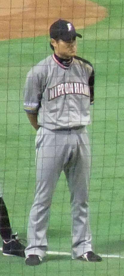 Kensuke Tanaka played with the Nippon Ham Fighters. Photo: Inucara / HatenaFotolife