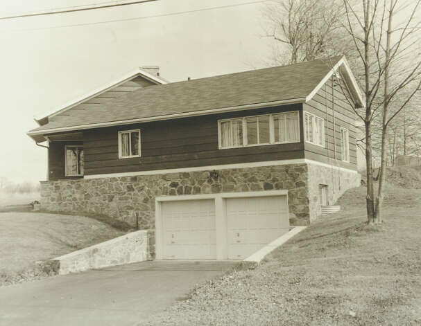 A photograph from the collection of Architect Mark Halstead shows The Cohn-Lachance House at 93 Mayflower Drive in Bridgeport. The home, which was built in 1947, is in the process of receiving historic designation. Photo: Contributed Photo / Connecticut Post Contributed