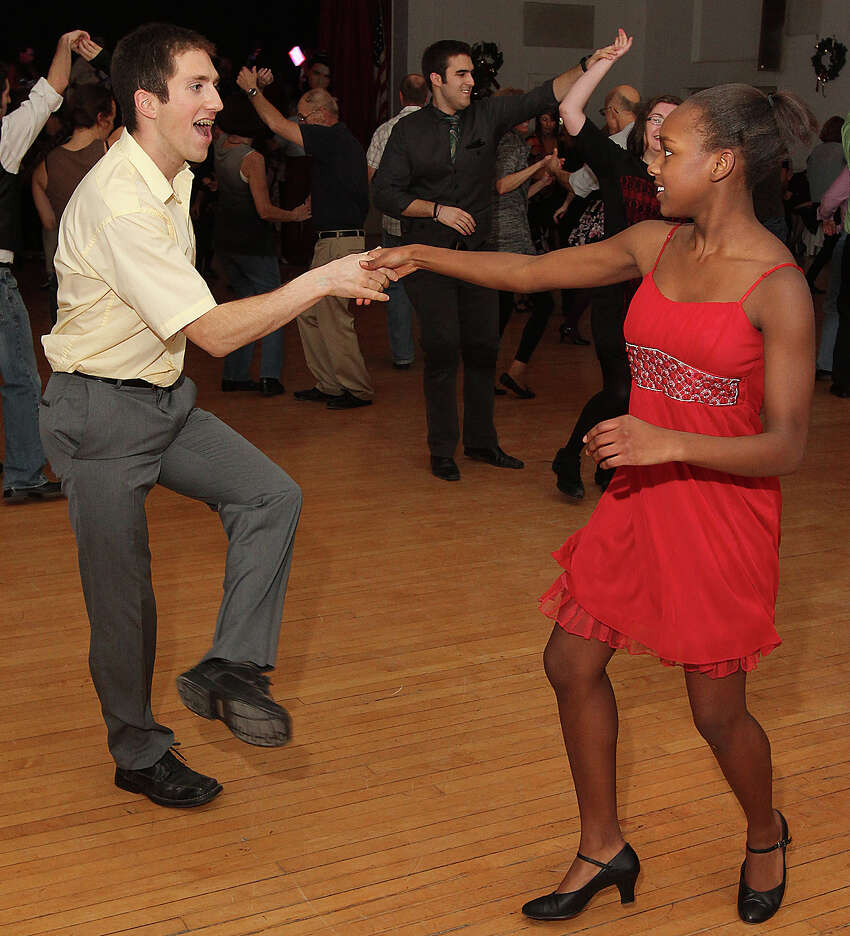 Want to work off those holiday carbs? Check outAlbany First Friday Swing Dance with Sonny & Perley Jive Five at the Albany Elks Lodge. Get a free lesson followed by open dancing to live music. Learn more. (Times Union archive photo)