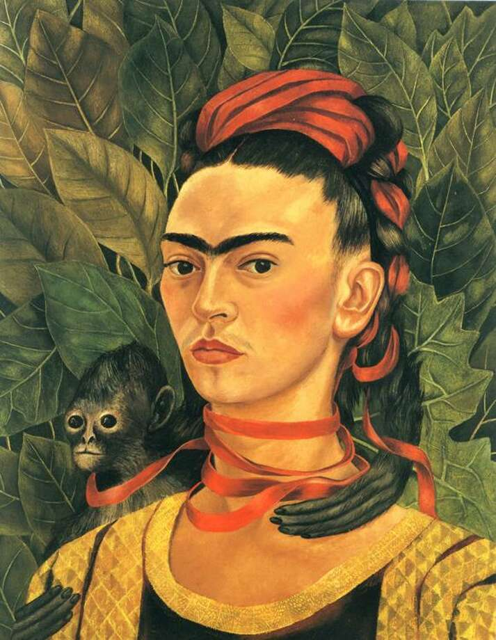 Frida Kahlo, Self Portrait with a Monkey 1938