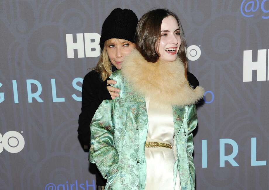 "Actress Rosanna Arquette, left, and daughter Zoe Sidel attend the HBO premiere of ""Girls"" at the NYU Skirball Center on Wednesday, Jan. 9, 2013 in New York. Photo: Evan Agostini, Evan Agostini/Invision/AP / Invision"