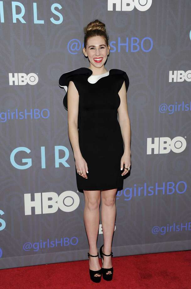 "Actress Zosia Mamet attends the HBO premiere of ""Girls"" at the NYU Skirball Center on Wednesday, Jan. 9, 2013 in New York. Photo: Evan Agostini, Evan Agostini/Invision/AP / Invision"