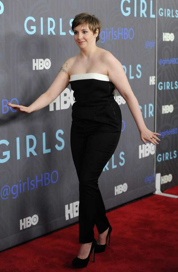 "Creator, executive producer and actress, Lena Dunham, attends the HBO premiere of ""Girls"" at the NYU Skirball Center on Wednesday, Jan. 9, 2013 in New York. Photo: Evan Agostini, Evan Agostini/Invision/AP / Invision"