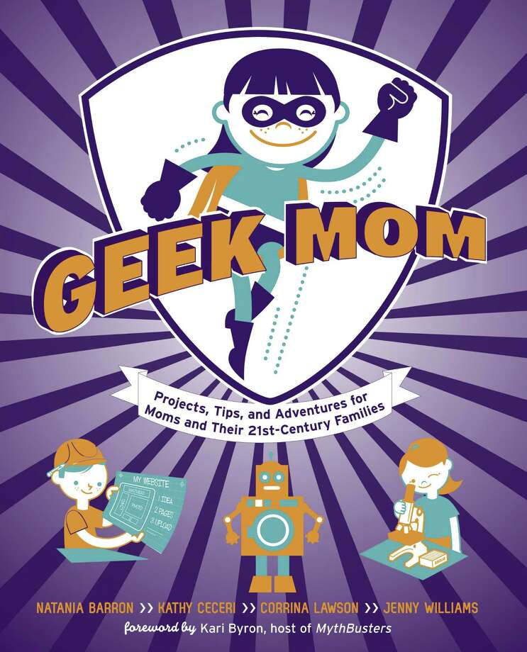 """Geek Mom"" book jacket"