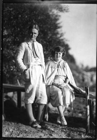 "F. Scott Fitzgerald and his wife Zelda lived in a house on South Compo Road in Westport in 1920. ""The Great Gatsby"" was chosen as this year's WestportREADS book by the Westport Library. A series of programs sponsored by the library will lead up to a discussion at the Fitzgerald house on Feb. 2. Photo: Contributed Photo"