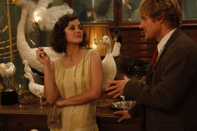 "The Woody Allen time travel comedy ""Midnight in Paris,"" which includes scenes set in the 1920s with F. Scott and Zelda Fitzgerald, will be screened at the Westport Library on Tuesday, Jan. 22 at 2 p.m. as part of the WestportREADS celebration of ""The Great Gatsby."" The 2010 Woody Allen hit features (above) Marion Cotillard and Owen Wilson. Photo: Contributed Photo"