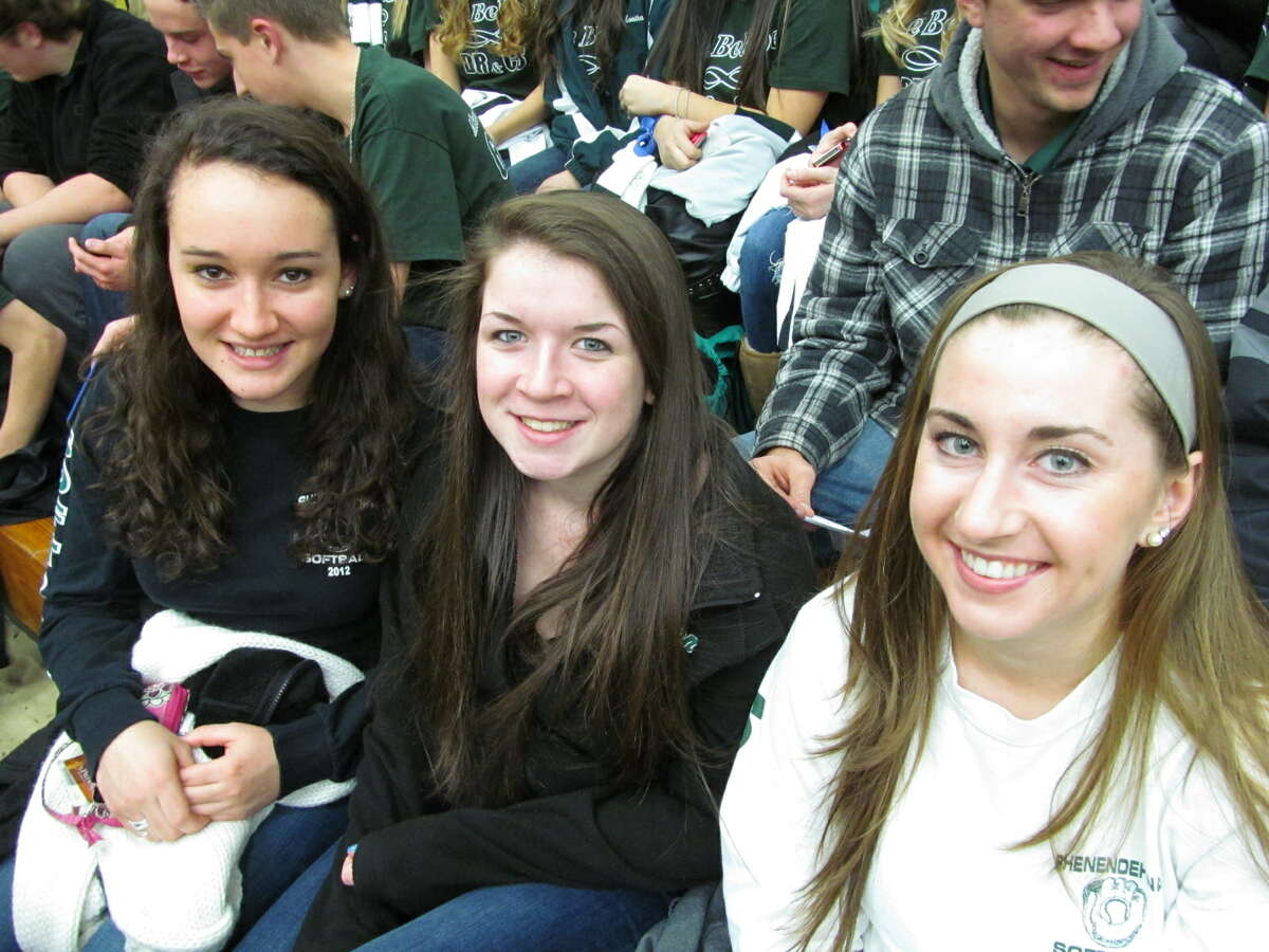 Were you Seen at the Shenendehowa and Shaker basketball games at the Siena College Alumni Recreation Center on Thursday, January 10, 2013? The proceeds from those two games, plus the sale of T-shirts, went toward the memorial scholarship funds of Christopher F. Stewart and Deanna M. Rivers.