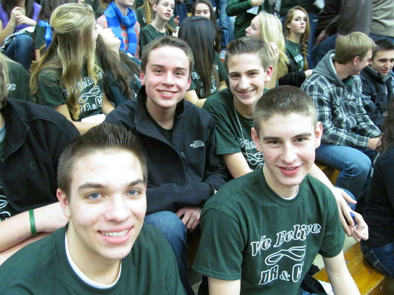 Were you Seen at the Shenendehowa and Shaker basketball games at the Siena College Alumni Recreation