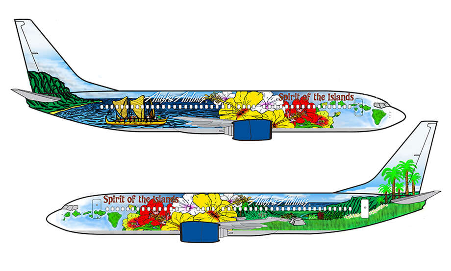 Grand Prize: Aaron Nee, 11th grade. Kaiser High School, Honolulu. Alaska Airlines will paint Nee's design on one of its Boeing 737s, and give him a $5,000 scholarship and a trip for four to any Alaska Airlines destination. Photo: Alaska Airlines