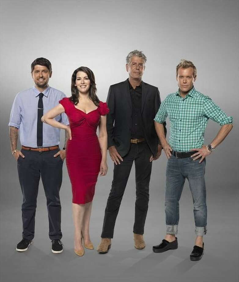 THE TASTE - ABC's The Taste features expert chef/author Ludo Lefebvre, British food star Nigella Lawson, no-holds barred chef Anthony Bourdain and  restaurateur Brian Malarkey.  (ABC/SASHA SHEMIRANI) Photo: Sasha Shemirani, ABC / © 2013 American Broadcasting Companies, Inc. All rights reserved.
