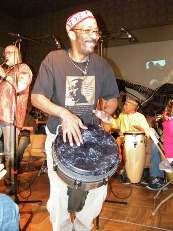 Michael Mills will give a drumming performance Monday at the Yale Peabody Museum in New Haven. Admission is free. Photo: Contributed Photo