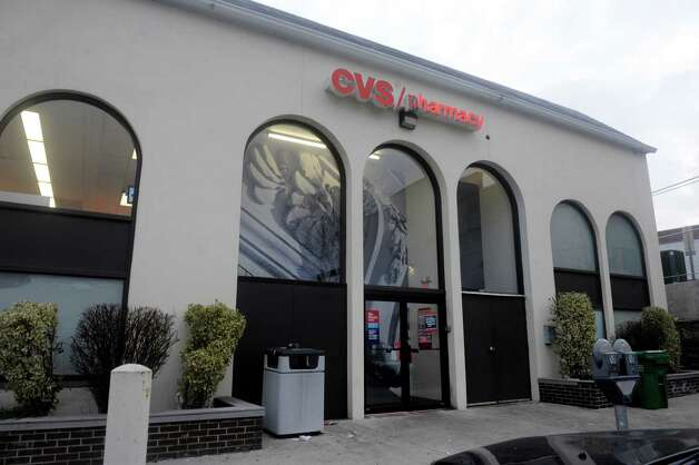 "The CVS pharmacy in Greenwich was out of flu shots Wednesday, Jan. 9, 2013. Despite having signs on their stores proclaiming ""Flu shots every day,"" at least some CVS pharmacies in Greenwich have run out of flu shots and may not be getting more until the end of the week, if not later. Photo: Helen Neafsey / Greenwich Time"
