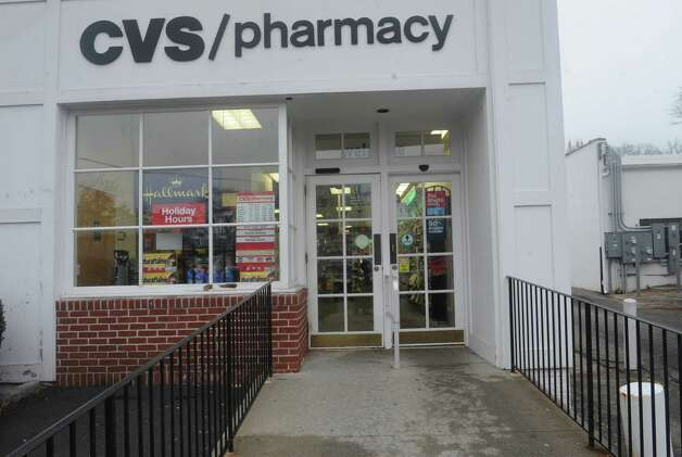 "The CVS pharmacy in Old Greenwich was out of flu shots Wednesday, Jan. 9, 2013. Despite having signs on their stores proclaiming ""Flu shots every day,"" at least some CVS pharmacies in Greenwich have run out of flu shots and may not be getting more until the end of the week, if not later. Photo: Helen Neafsey / Greenwich Time"