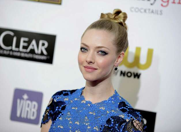 Amanda Seyfried arrives. Photo: Jordan Strauss/Invision/AP