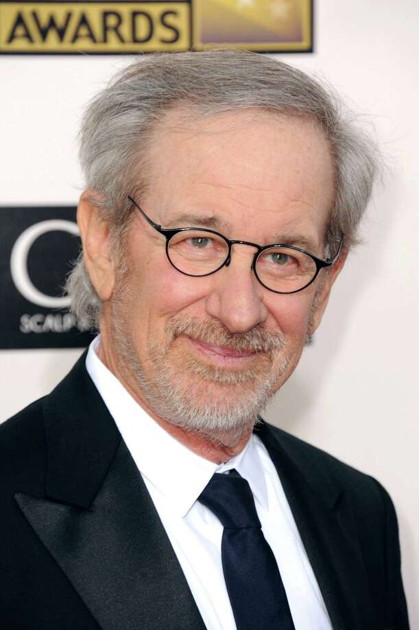 Steven Spielberg arrives. Photo: Jordan Strauss/Invision/AP