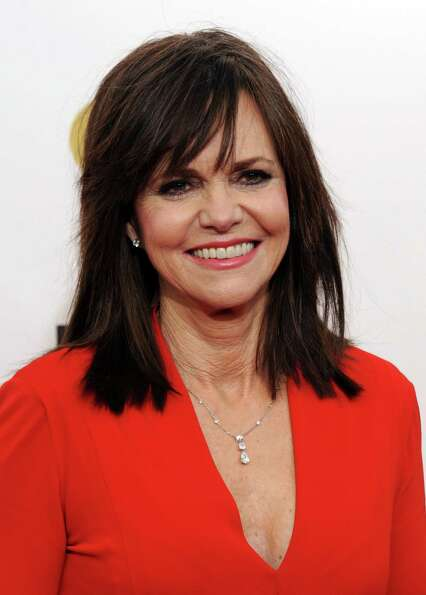 Sally Field arrives.