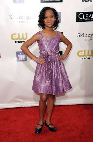 Quvenzhane Wallis arrives. Photo: Jordan Strauss/Invision/AP