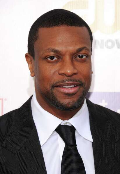 Chris Tucker arrives.