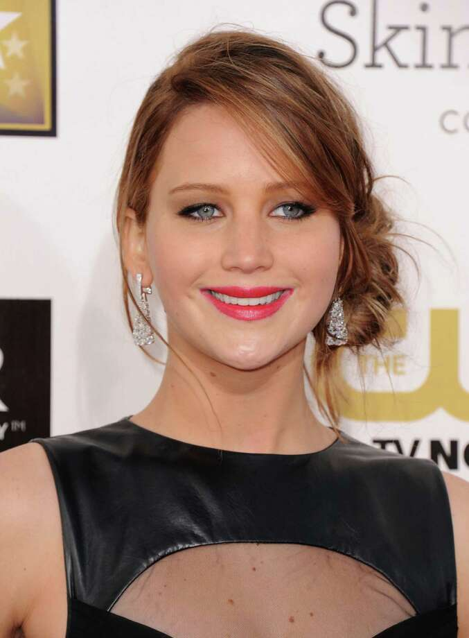 Jennifer Lawrence arrives. Photo: Jordan Strauss/Invision/AP