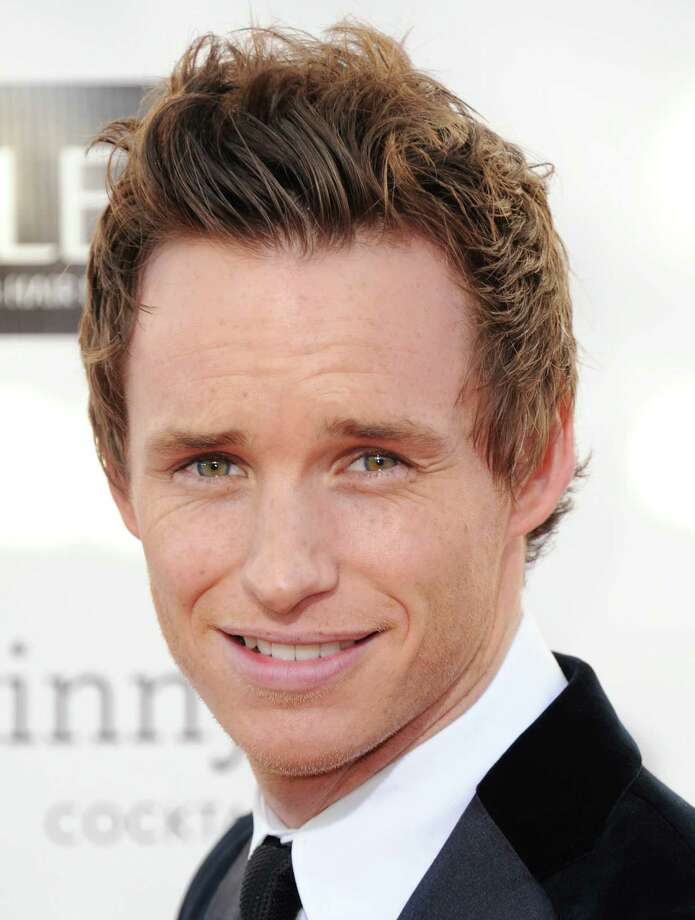 Eddie Redmayne arrives. Photo: Jordan Strauss/Invision/AP