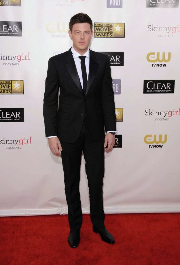 Cory Monteith arrives. Photo: Jordan Strauss/Invision/AP