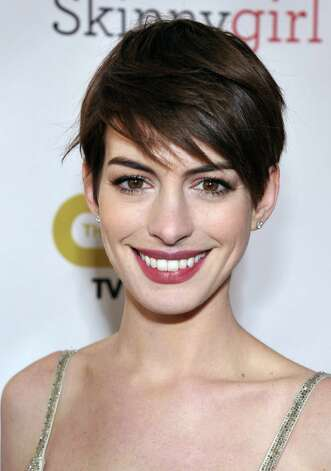 Anne Hathaway arrives. Photo: John Shearer/Invision/AP