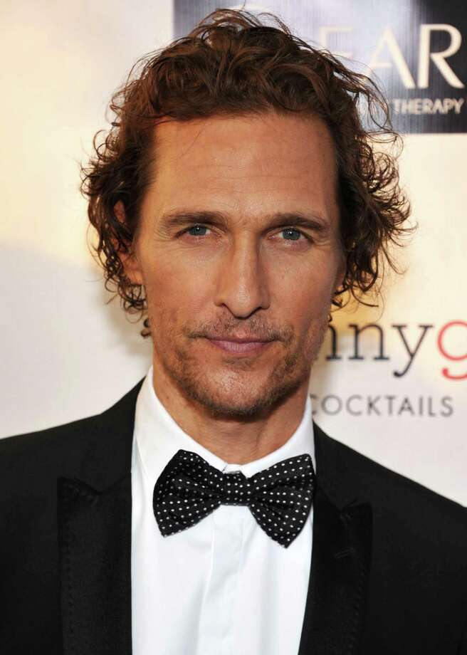 Matthew McConaughey arrives. Photo: John Shearer/Invision/AP