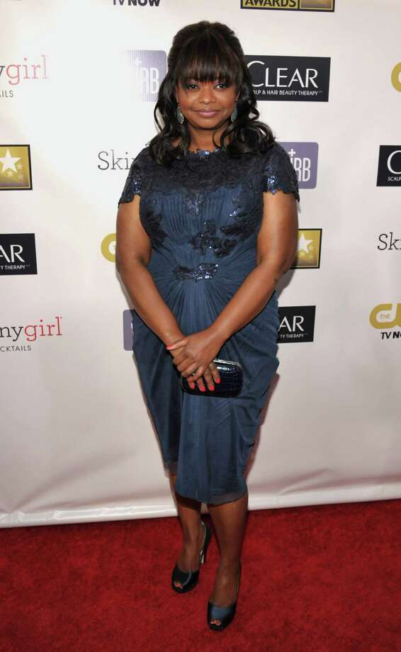 Octavia Spencer arrives. Photo: John Shearer/Invision/AP