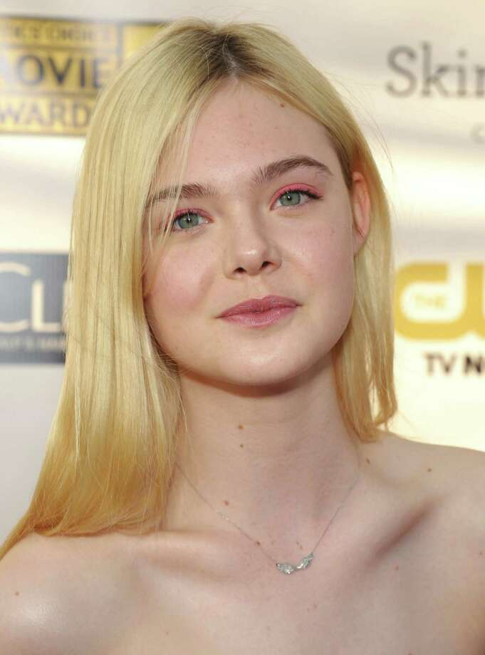 Elle Fanning arrives. Photo: John Shearer/Invision/AP