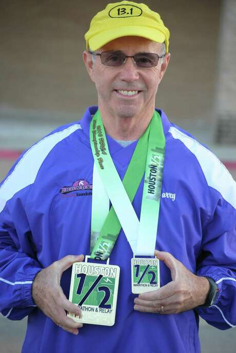 Larry DeSpain, the top individual fundraiser in the Houston Marathon Committee's Run for a Reason program, expects to top last year's total. Photo: Courtesy Larry DeSpain