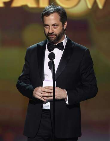 Judd Apatow accepts the Critics' Choice Louis XIII Genius Award. Photo: Matt Sayles/Invision/AP