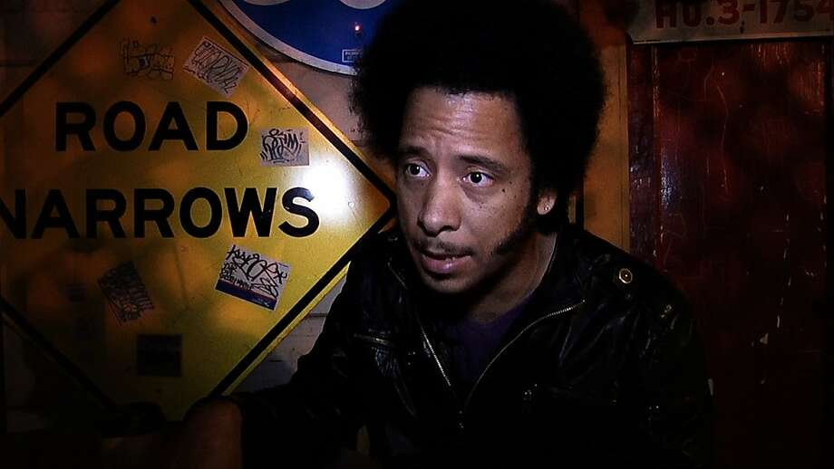 Boots Riley, of hip-hop group the Coup and a key figure in the Occupy Oakland movement, will appear at Saturday's screening. Photo: CAVU Pictures