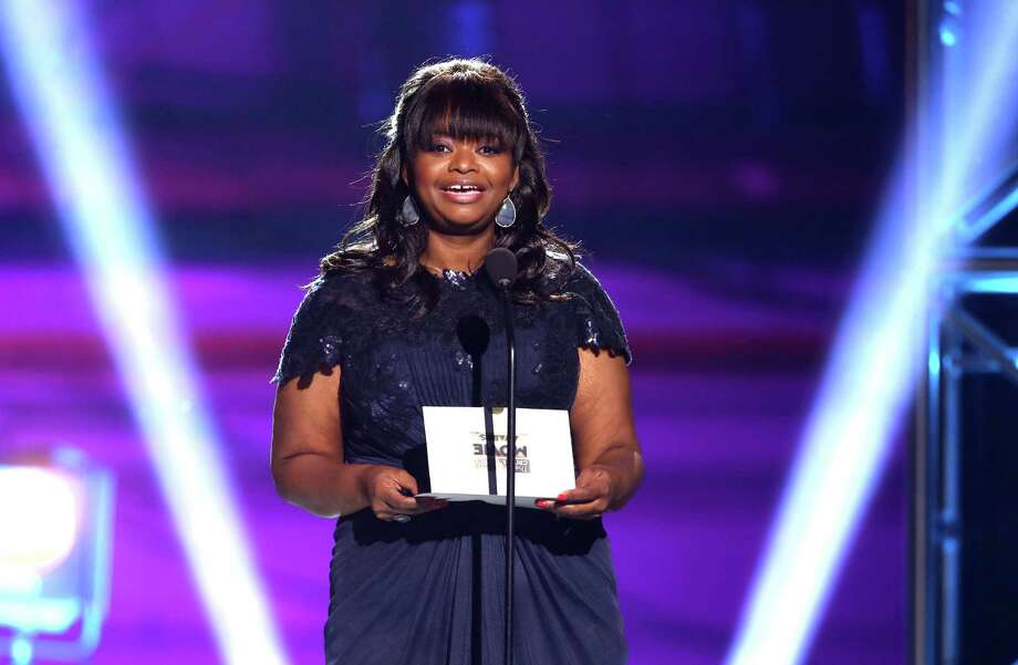 Octavia Spencer presents an award. Photo: Matt Sayles/Invision/AP