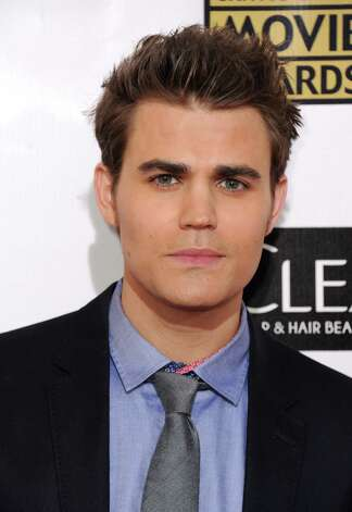 Paul Wesley arrives. Photo: Jordan Strauss/Invision/AP