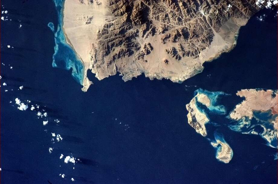 Hadfield Tweets: Sharm el Sheikh, at the tip of the Sinai on the Red Sea.