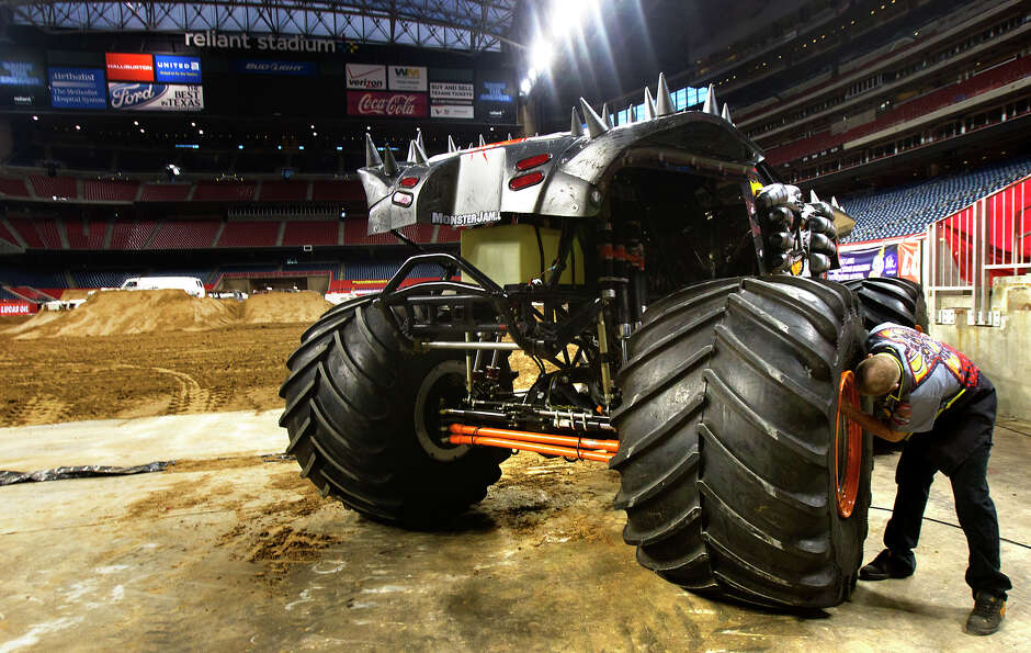 After taking a backseat to the Texans playoff victory, Monster Jam will 