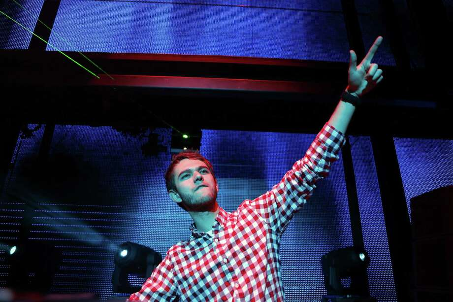 LAS VEGAS, NV - JANUARY 10:  DJ Zedd performs at the Beats by Dr. Dre CES after-party at the Marquee Nightclub at The Cosmopolitan of Las Vegas on January 10, 2013 in Las Vegas, Nevada. Photo: Isaac Brekken, Getty Images For Beats By Dre / 2013 Getty Images