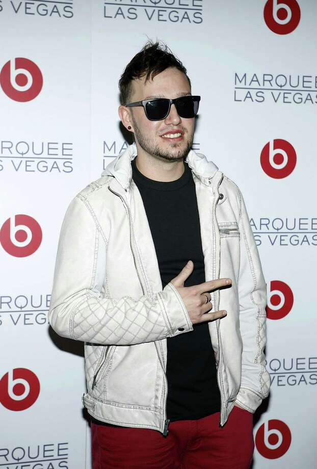 LAS VEGAS, NV - JANUARY 10: DJ Robbie Wilde arrives at the Beats by Dr. Dre CES after-party at the Marquee Nightclub at The Cosmopolitan of Las Vegas on January 10, 2013 in Las Vegas, Nevada. Photo: Isaac Brekken, Getty Images For Beats By Dre / 2013 Getty Images