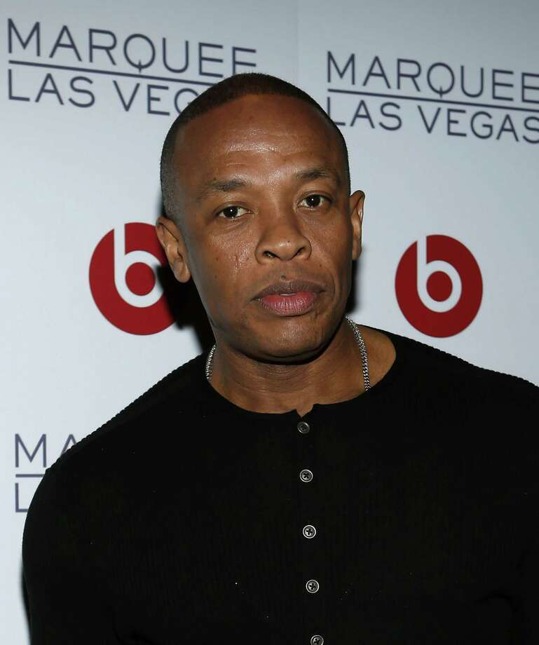 LAS VEGAS, NV - JANUARY 10:  Founder of Beats Electronics, Dr. Dre arrives at the Beats by Dr. Dre CES after-party at the Marquee Nightclub at The Cosmopolitan of Las Vegas on January 10, 2013 in Las Vegas, Nevada. Photo: Isaac Brekken, Getty Images For Beats By Dre / 2013 Getty Images