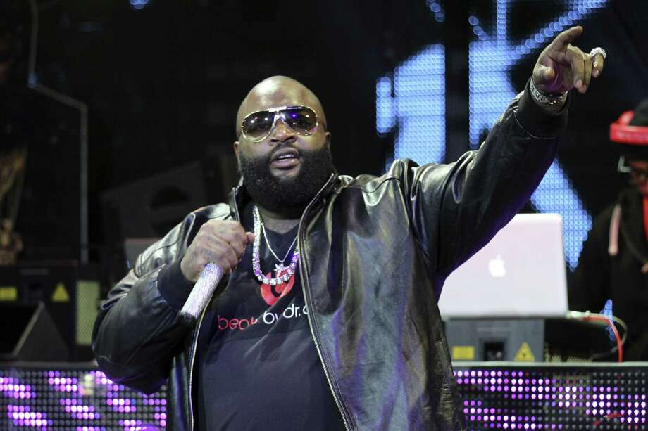 LAS VEGAS, NV - JANUARY 10:  Rapper Rick Ross performs at the Beats by Dr. Dre CES after-party at the Marquee Nightclub at The Cosmopolitan of Las Vegas on January 10, 2013 in Las Vegas, Nevada. Photo: Isaac Brekken, Getty Images For Beats By Dre / 2013 Getty Images