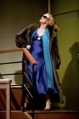 "Valerie Harper is playing Tallulah Bankhead in the play ""Looped"" which is starting a national tour at the Bushnell in Hartford on Jan. 24. Photo: Contributed Photo"