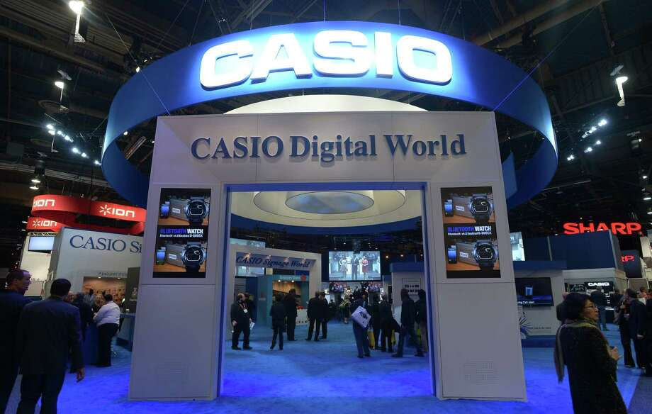 The Casio booth at the 2013 International CES is seen Thursday. Photo: JOE KLAMAR, AFP/Getty Images / AFP