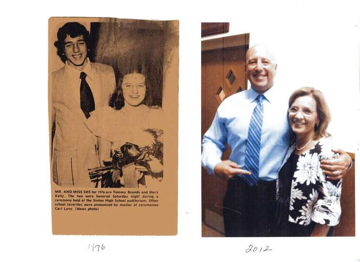 Tommy Bounds and Mary Kelly, Mr. & Miss SHS (Sinton,TX High School)
