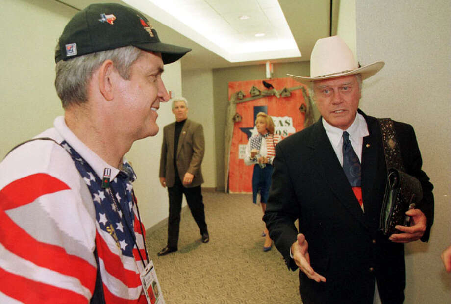 He spent his own money to campaign for the 2008 Olympics to come to Houston.  Photo: Richard Carson, . / Houston Chronicle