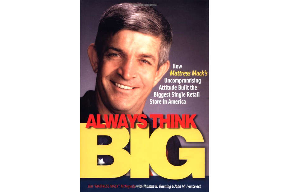"He co-wrote the book, ""Always Think Big."" Photo: ."